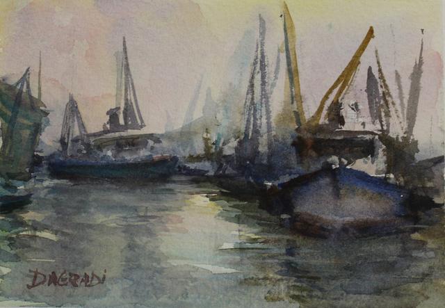 , 'Boats,' , LeMieux Galleries