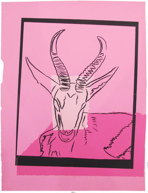 , 'Vanishing Animals -- Sommering Gazelle (2),' 1986, Hamilton-Selway Fine Art