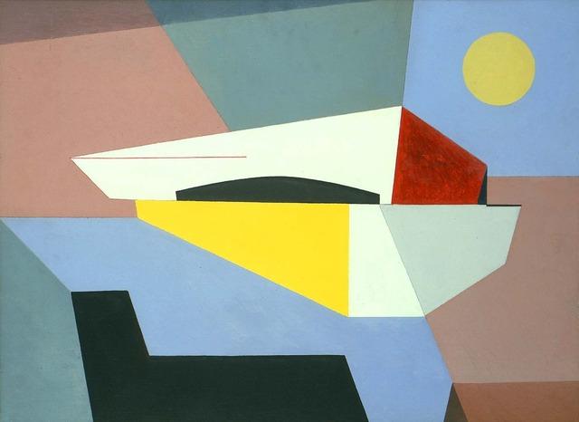 Charles Green Shaw, 'Untitled (Atomic Flight)', 1945, Michael Rosenfeld Gallery