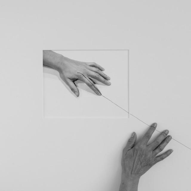 , 'Forty Years IIB (hand, over Line II 1973),' 2013, Mor Charpentier