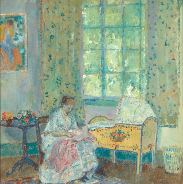 Frederick Carl Frieseke, 'In the Nursery', ca. 1917,  M.S. Rau