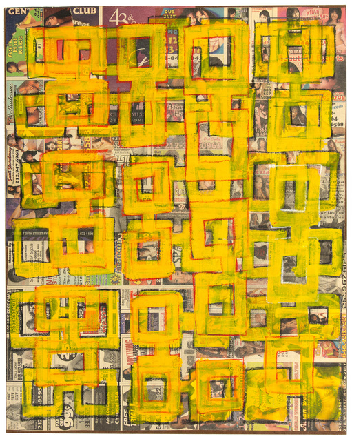 , 'No. 9 (Yellow) from Nixon Part II (Dr. K),' 2009, The Merchant House