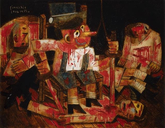 , 'Pinocchio,' 2016, Gallery Mac