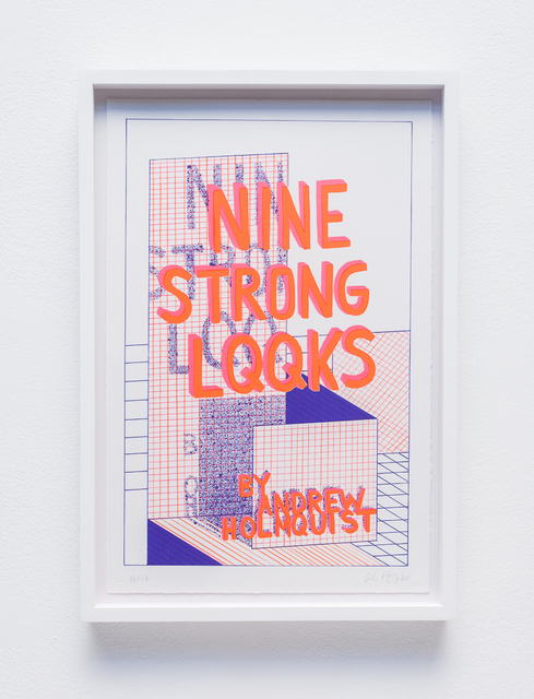 , 'NINE STRONG LQQKS,' 2017, Carrie Secrist Gallery
