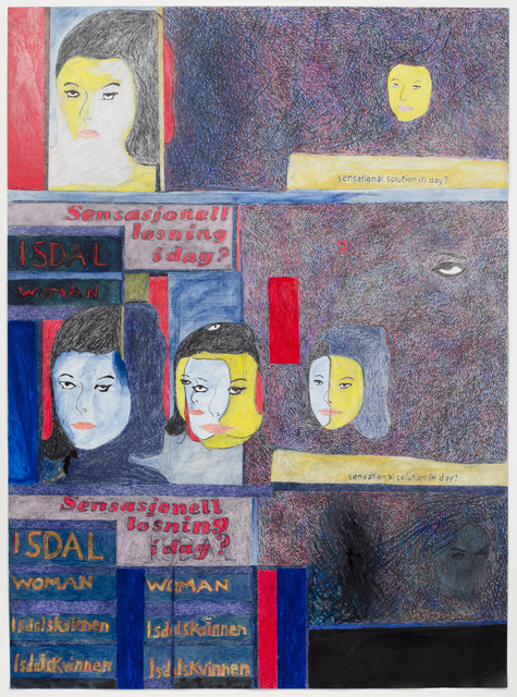 , 'Portrait of Isdal Woman,' 2017, Fleisher/Ollman