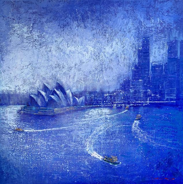 David Hinchliffe, 'Sydney Blues', ca. 2019, Wentworth Galleries