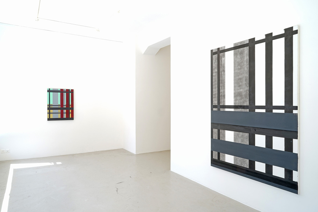 Installation view Pierre Haubensak: SICHTEN - Polyscapes 2005-15, Lullin + Ferrari, Zurich, 2015