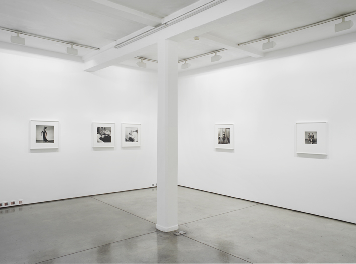 Peter Hujar, exhibition view at Maureen Paley, London 2014
