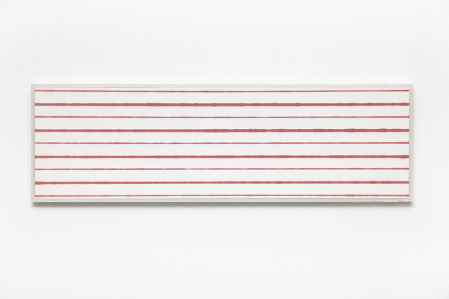 , 'Faster and Slower Lines No. 2,' 1975, i8 Gallery