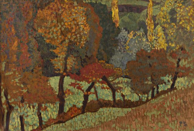 , 'Arbres le long du ruisseau,' 1912, Galerie Berès