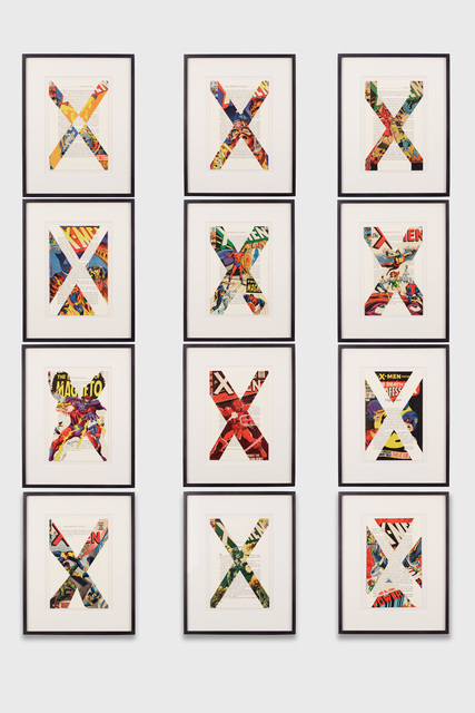 Tim Rollins and K.O.S., 'X-Men/Malcolm X (After Marvel Comics and Malcolm X)', 1997, Lehmann Maupin