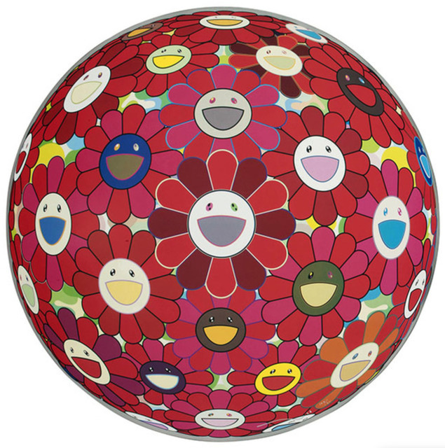 Takashi Murakami, 'Flower Ball (3D) Red Cliff', 2008, Toshkova Fine Art Advisory