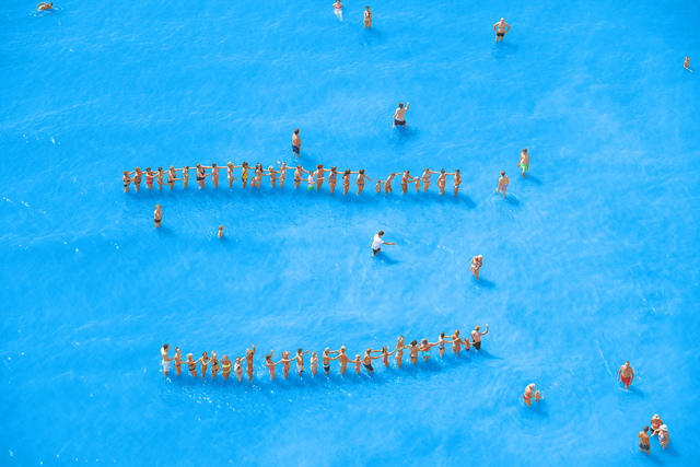 , 'Adriatic Sea (Staged) Dancing People 14,' 2015, Yancey Richardson Gallery