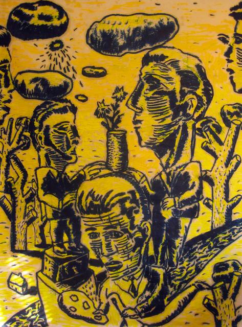 , 'Jaune,' , Galerie Zwart Huis