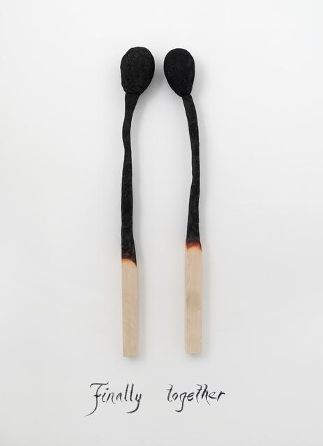 , 'Finally Together,' 2015, Castor Gallery