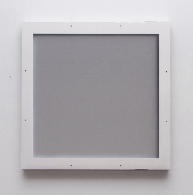 , 'Untitled (Blind for a Blind Gallery; Panel 1),' 2016, LAMB Arts