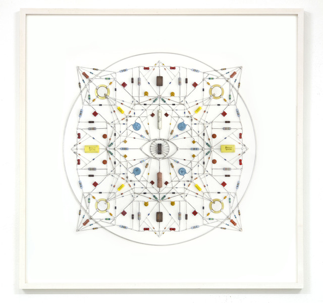 , 'Technological mandala 65 – guide eye,' 2015, The Flat - Massimo Carasi