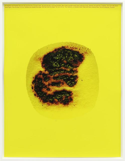 , 'Dogface,' 2016, Galerie Emanuel Layr