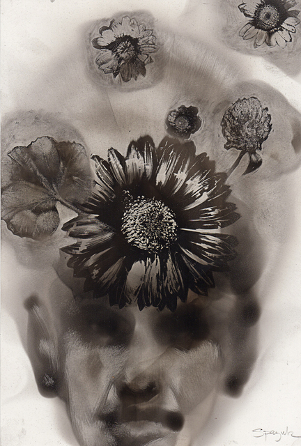 , 'Flower Imprints,' 2016, Adelson Galleries