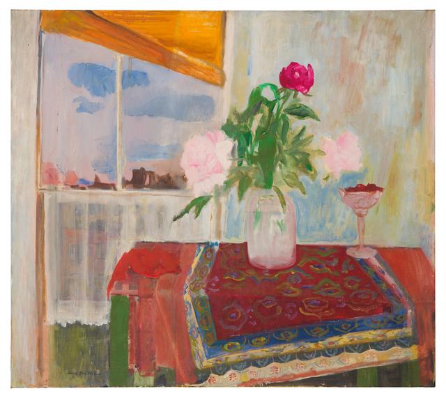 , 'Peonies on a Table,' 1954, Paul Kasmin Gallery