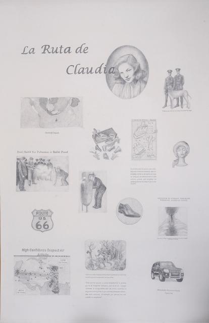 , 'La ruta de Claudia,' 2010, 80M2 Livia Benavides