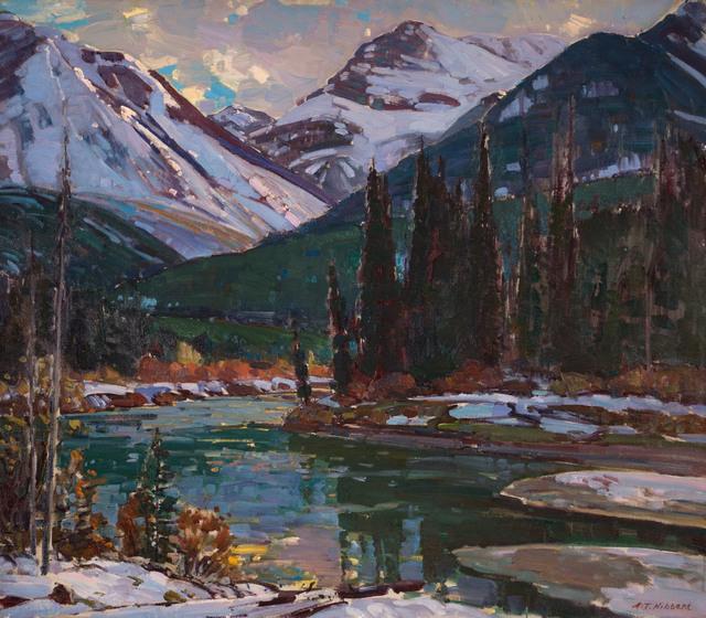 Aldro Thompson Hibbard, 'Bow River, near Banff, Canadian Rockies', 20th Century, Vose Galleries