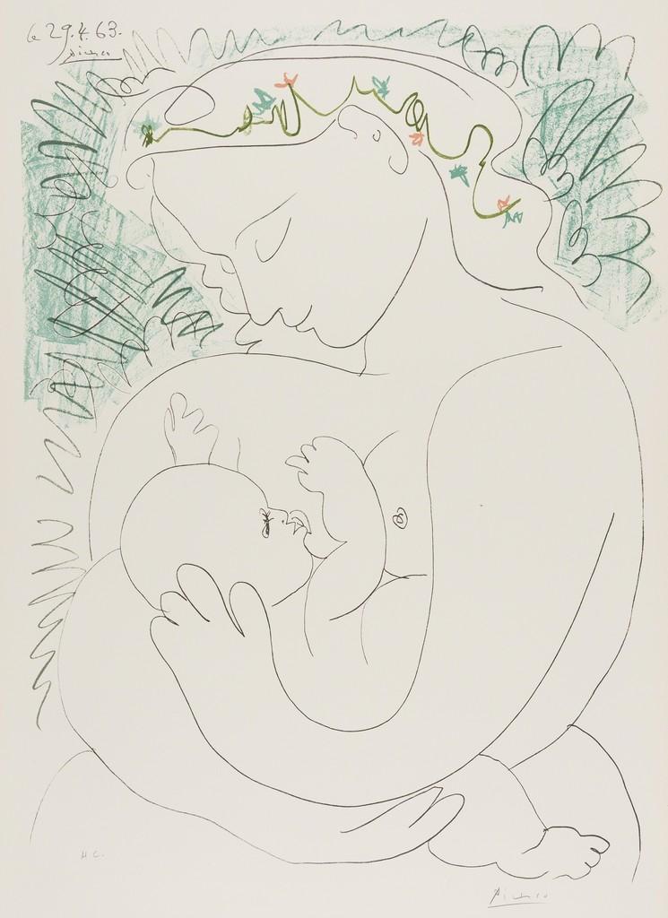 Pablo Picasso | Grand Maternite (1963) | Artsy