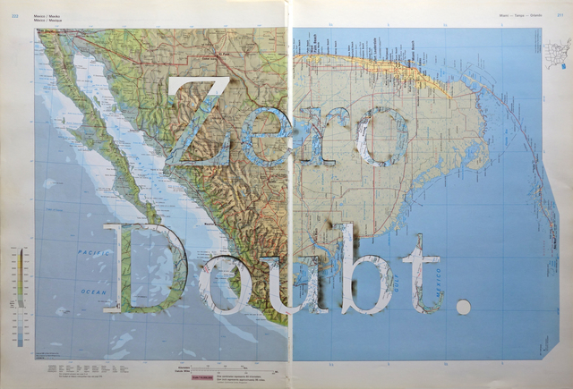 , 'Achievement Unlocked IV (Zero Doubt), Impossible Landscape series,' 2017, CURRO