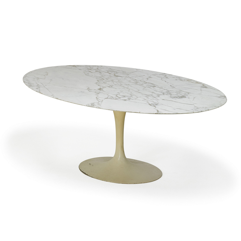 Eero Saarinen, U0027Oval Top Tulip Dining Table, New Yorku0027, 1960s,