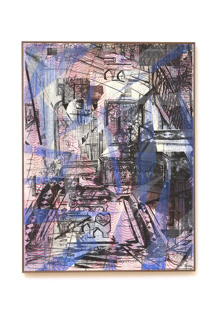 , 'Treppenhaus,' 2018, Galerie Britta von Rettberg