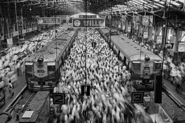 , 'Church Gate Station, Bombay, India,' 1995, Nicholas Metivier Gallery