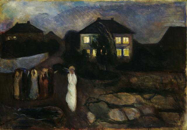, 'The Storm,' 1893, Museo Thyssen-Bornemisza