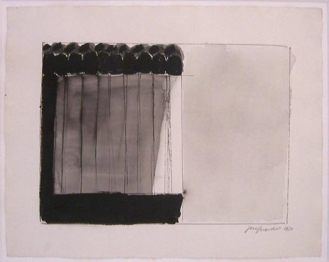 José Guerrero (b. 1914), 'S/T', 1970, Painting, Watercolor and ink on paper, Galería Marita Segovia