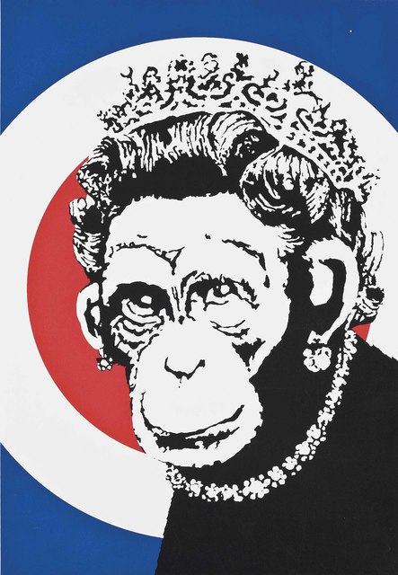 Banksy, 'Monkey Queen', 2003, Maddox Gallery Gallery Auction