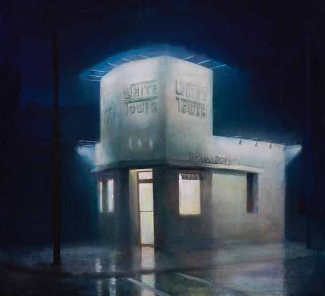 , 'White Tower,' 2019, David Klein Gallery