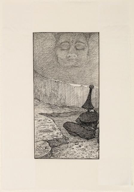 , 'Meditation,' 1909, W&K - Wienerroither & Kohlbacher