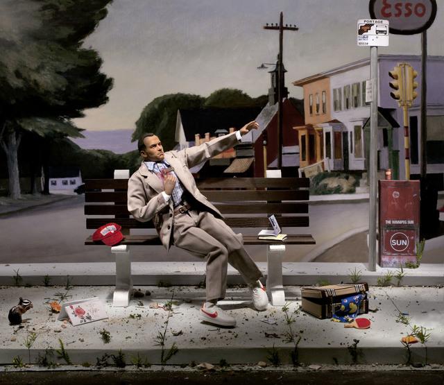 , 'Portrait of Winnipeg (Run! Forrest! Run!),' 2012, Fabien Castanier Gallery