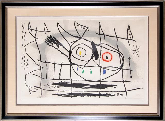 Joan Miró, 'Couple D'Oiseaux II', 1966, Print, Etching with Aquatint, RoGallery