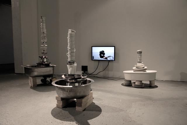 , 'Stalagmites,' 2015, Galerie Anhava