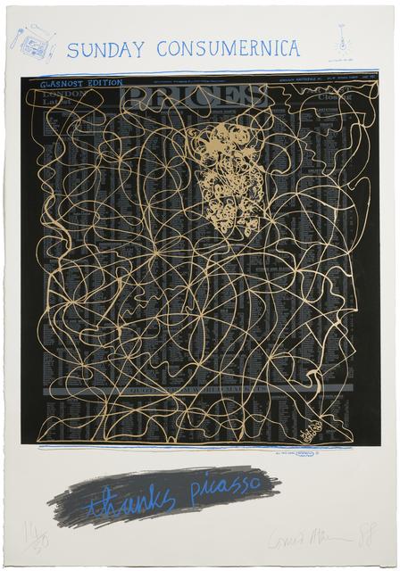 Conrad Atkinson, 'Thanx Picasso', 1988, Peacock Visual Arts