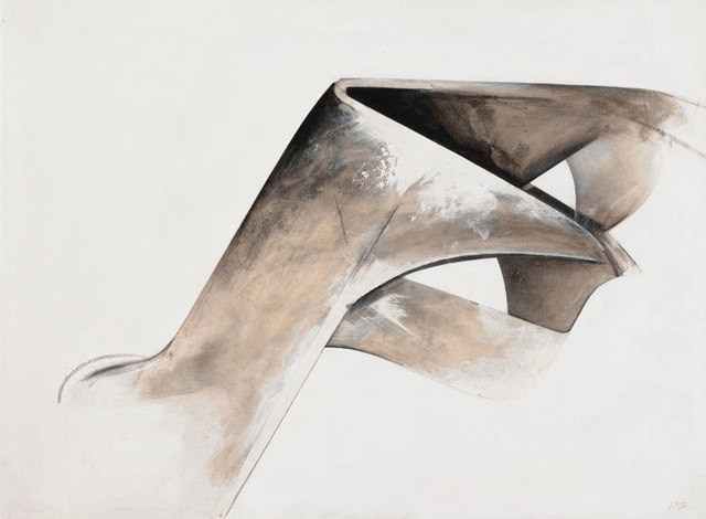 Jay DeFeo, 'Untitled, from the series Eternal Triangle ', 1980, San Francisco Museum of Modern Art (SFMOMA)