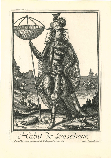 , 'Habit de Pescheur,' 1690, Andrew Edmunds