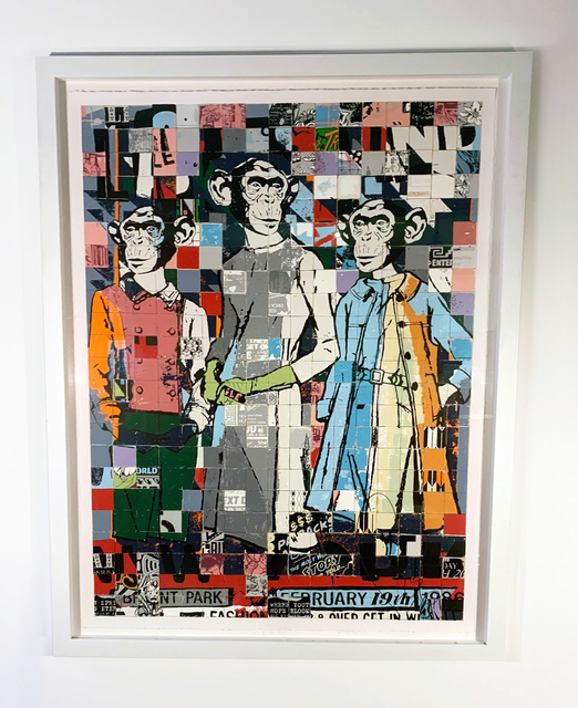 FAILE, 'Fashion Chimps', 2011, Jewel Goodby Contemporary