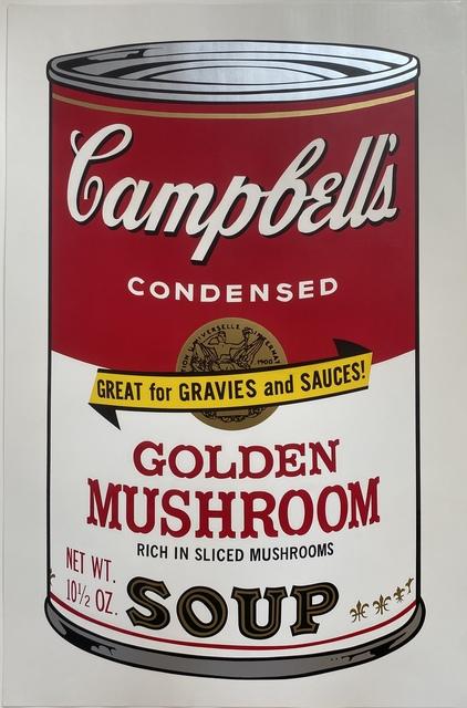 Andy Warhol, 'Campbell's Soup II, Golden Mushroom F&S II.62', 1969, Print, Screenprint in colors on wove paper, Fine Art Mia
