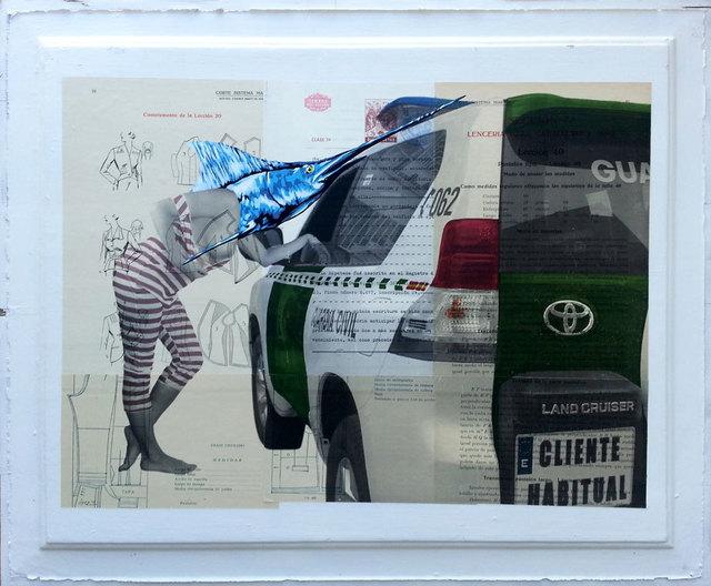 """Vinz Feel Free, '""""Street market""""', 2013, sc gallery"""