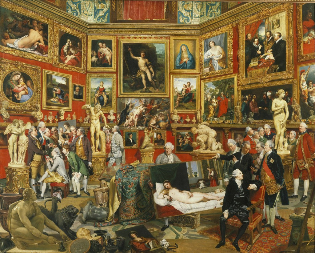The Tribuna of the Uffizi