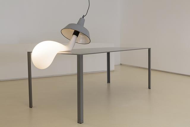 , 'LIGHT BULB ( TABLE NOT INCLUDED),' 2015, Galeria Mário Sequeira