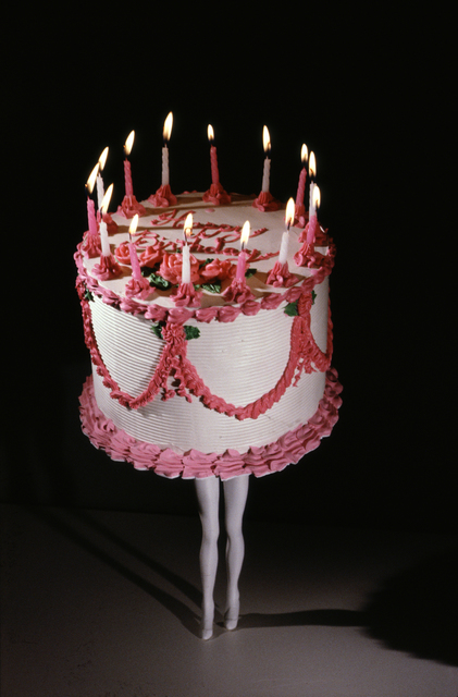 Laurie Simmons, 'Walking Cake (color)', 1989, Independent Curators International (ICI) Benefit Auction