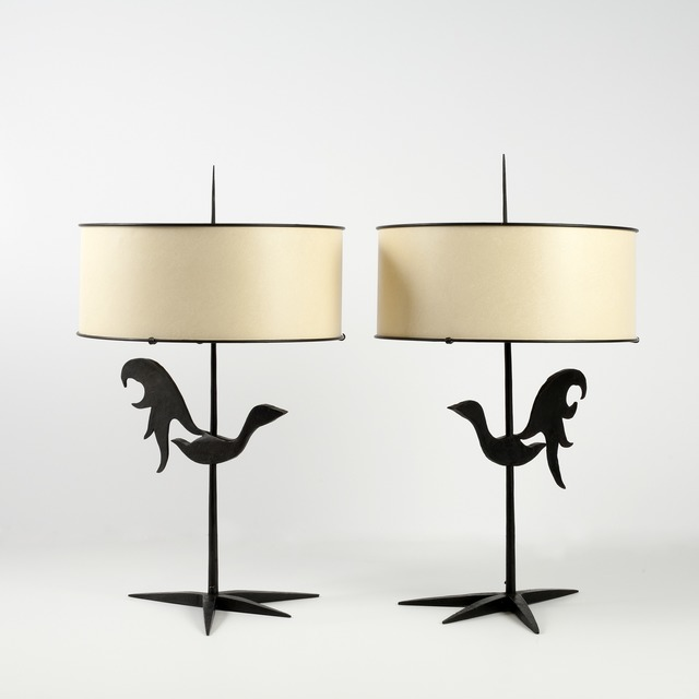 , 'Pair of Table Lamps,' ca. 1960, Maison Gerard
