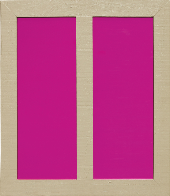 Ugo Rondinone, 'Clockwork for Oracles - Pink', 2002, Mixed Media, Mirror, colored plastic gel and wood, Phillips